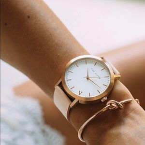 The FIFTH - Rose Gold & Peach (Classic) Watch